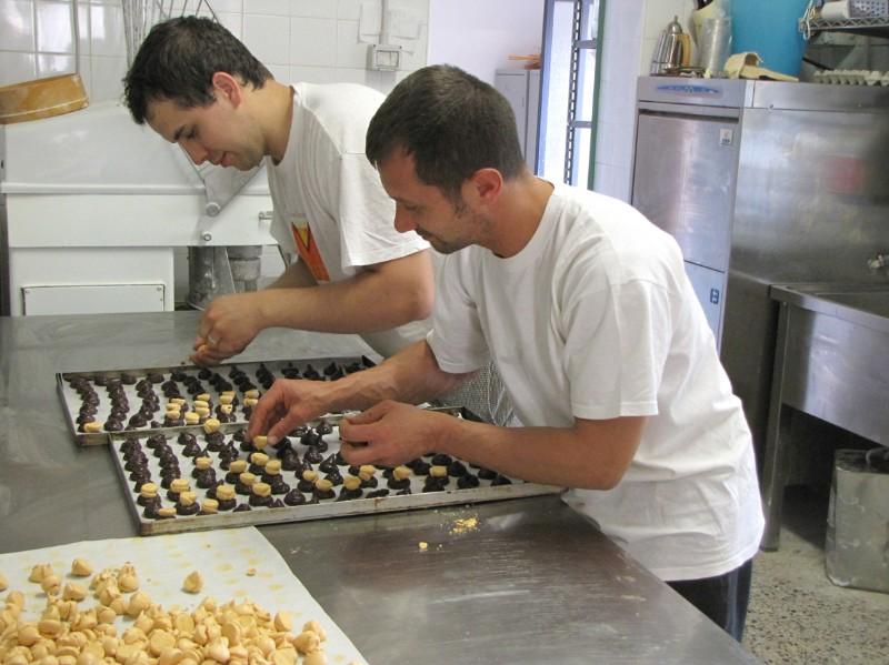 Preparazione Persipien Cioccolatini